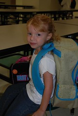 Hope's first day of school