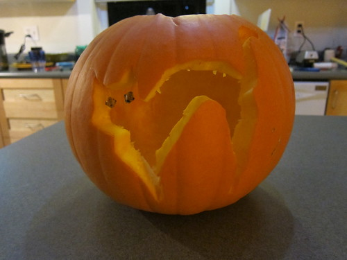 Jenn & Sym's Cat o'Lantern