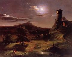 Cole, Thomas  - Moonlight  - 1833-34