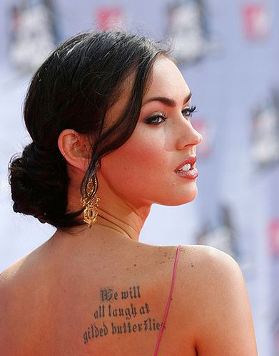 Megan Fox loves tattoos and she says she'll keep getting them.