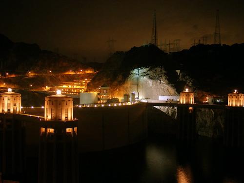 Hoover Dam, 3 am