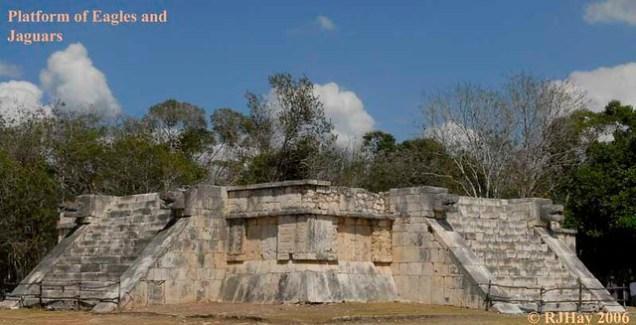 Platform of Jaguars and Eagles