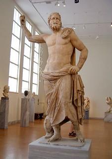 Temple Statue of Poseidon