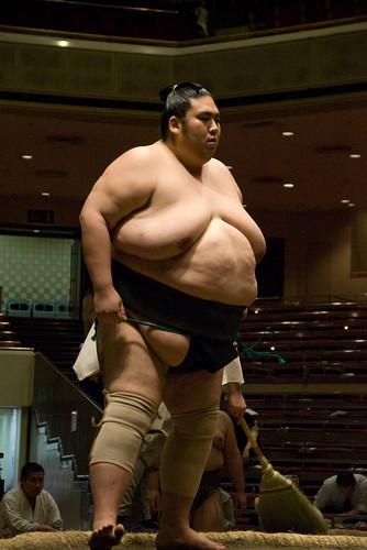 Luchador sumo de la categor�a makuuchi o juryo, no me acuerdo