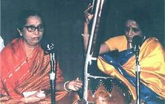 Gangubai Hangal and Krishna Hangal