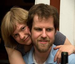 Helena och Jonas kvällen innan 2