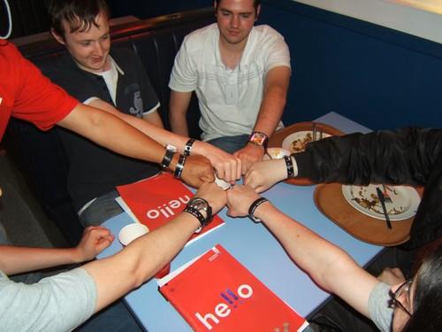 Cheesy Group Photo - Step Ahead 2007 @ Staffs Uni