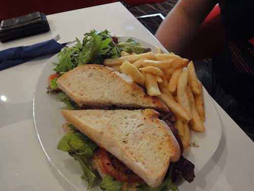 Townhouse: Steak sandwich