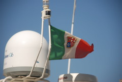 The nautic italian flag