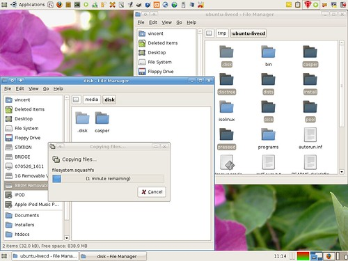 Preparing my USB drive for persistence - copying required files