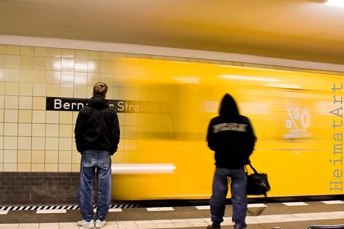 U-Bahneinfahrt Bernauerstr