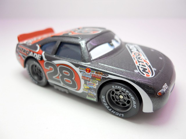 DISNEY CARS KMART COLLECTOR DAY 5  NITROADE RACER (2)
