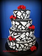 5178965862 35de6e79af m Baú de ideias: Decoração de casamento preto e branco