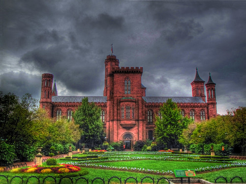 Enid A. Haupt Garden,US Smithsonian Institution in Washington DC.