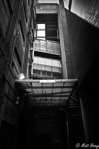 alley dark by Matt Hovey