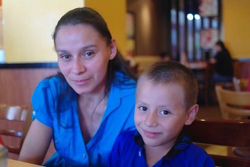 Ricardo with Mom