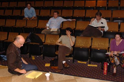Pangs of the Messiah Rehearsal