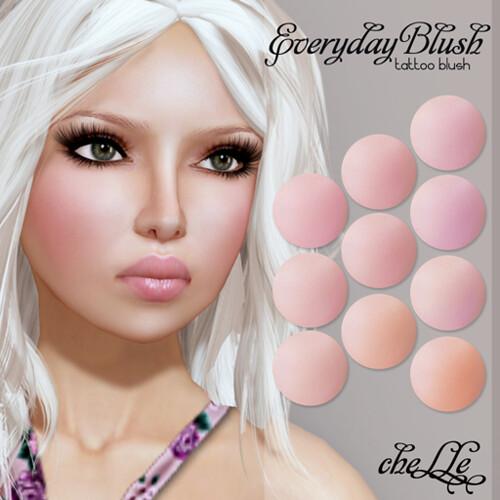 cheLLe - Everyday Blush (tattoo blush)