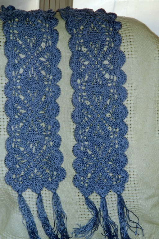 Crochet An Inspired Lace Scarf My Heart Knits