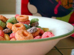 krusty o's = fruit loops
