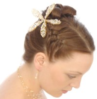 french braid wedding hair my wedding place updo with ...