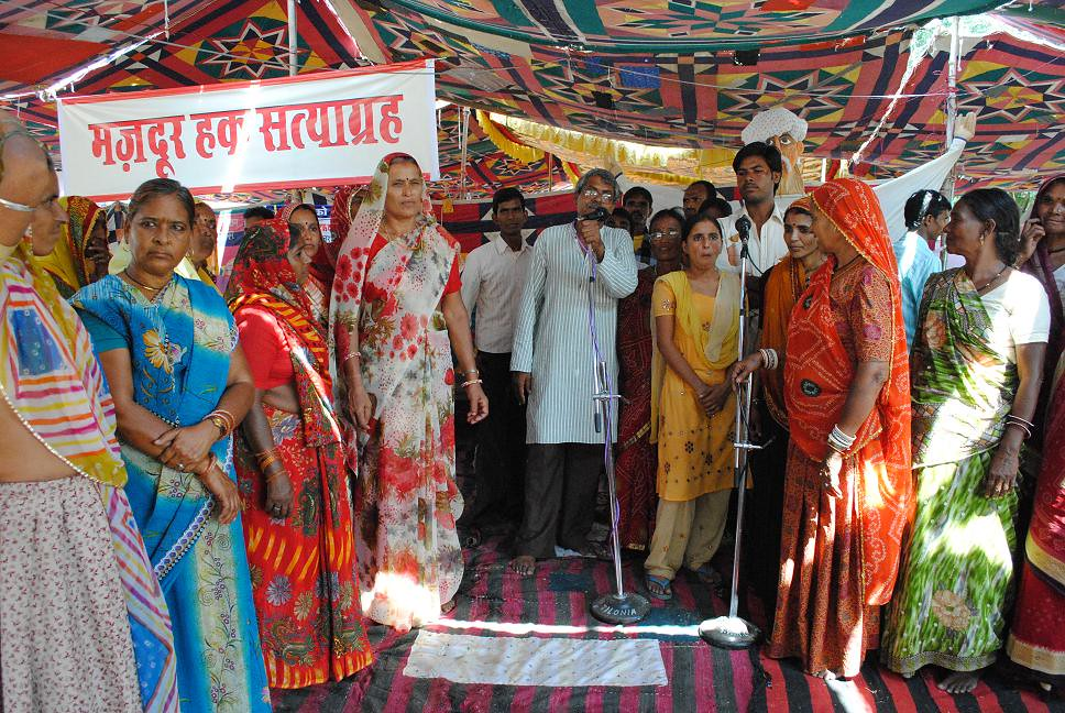 Pics from the satyagraha - 4 Oct 2010 - 14
