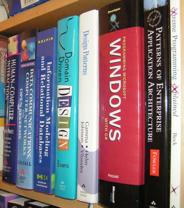 What's on my bookshelf 1
