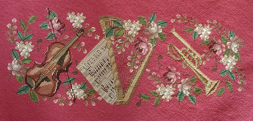 all of the needle point details