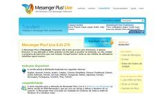 Página do MSN Plus! Live