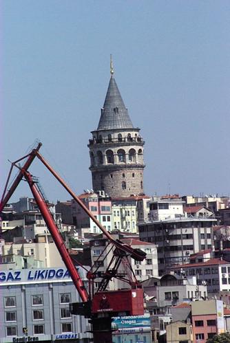 Galata Tower, Galata Kulesi, Galata İstanbul, Pentax K10d