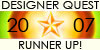 designer quest badge
