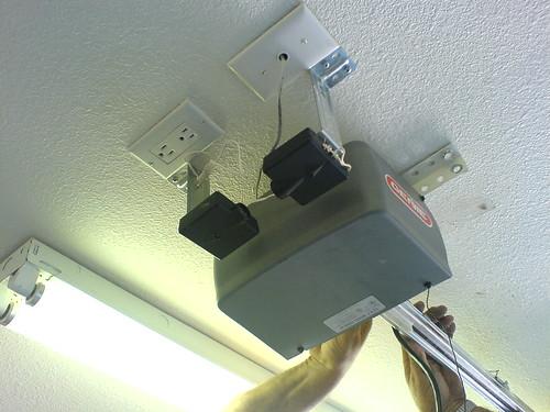 door light garage safety beam bypass sensor