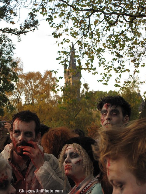Zombies Spotted Near Glasgow University