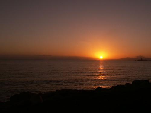 Sunrise over Cleveland Bay