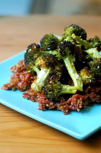 Sweet Baked Broccoli