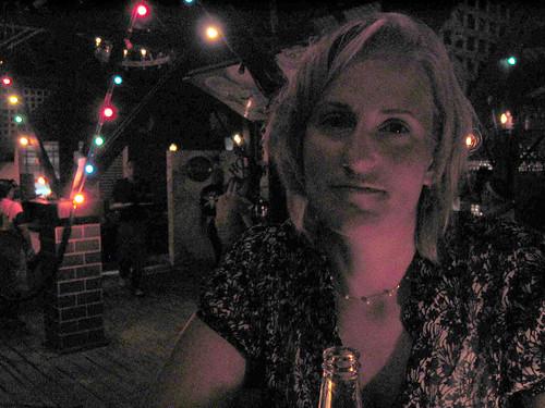 Jen at Hook's Hut