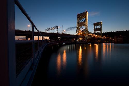 The Portage Lift Bridge I