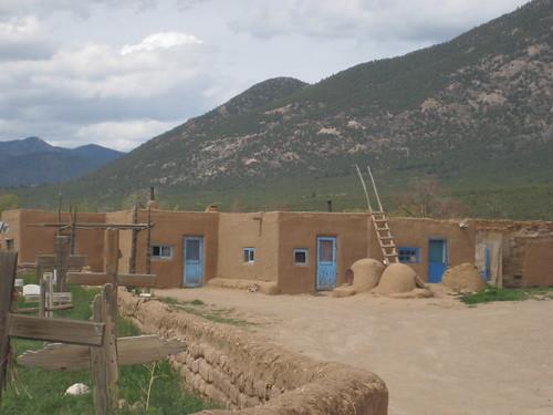 Taos Pueblo Doors