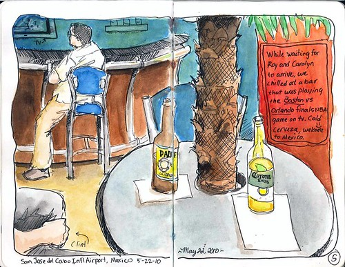 San Jose del Cabo airport bar