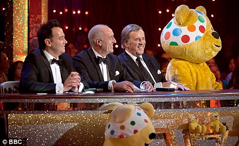 Children in Need 2010 - Strictly Come Dancing