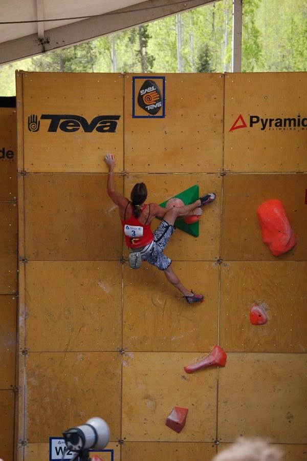 Teva Mountain Games: Climbing SemiFinals