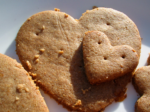 Heart Graham Crackers