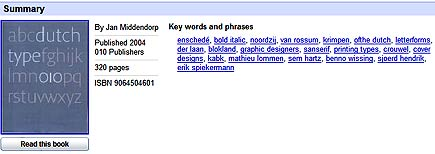 google book search keywords feature
