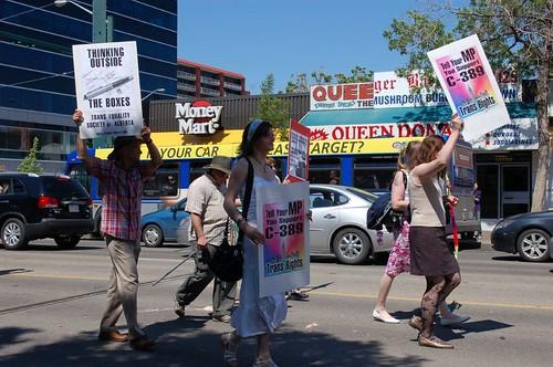 Trans Equality Society of Alberta, Edmonton Pride Parade 2010