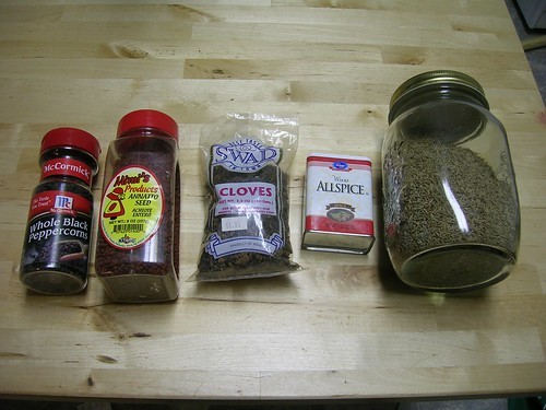 Achiote powder ingredients