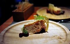 4th Course: Aerated Foie Gras
