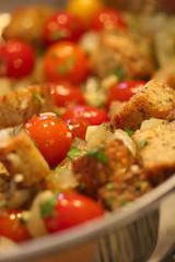 Panzanella stuffing (raw)