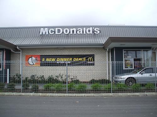 Hunger Buster, McDonalds Otara (2007)
