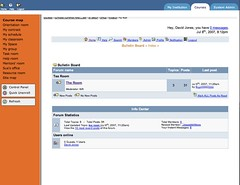 Integration of Webfuse and Blackboard