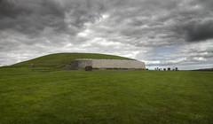 New Grange megalithic passage tomb